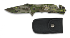Camo Army Tank Knife